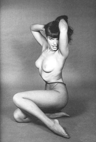 Playboy Model Betty Page