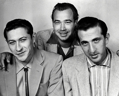 The Blue Moon Boys, Scotty Moore, Bill Black and DJ Fontana