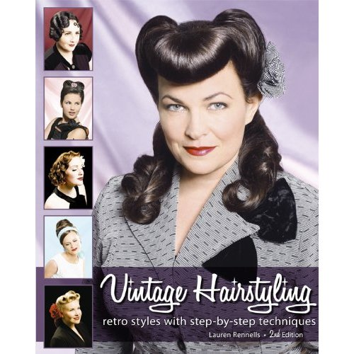 Vintage Pin Up Hairstyles for Short Hair