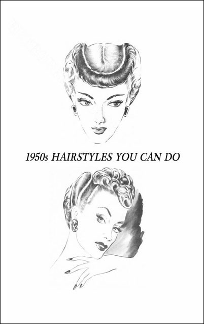 1950\'s hair styles you can do.