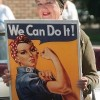 Geraldine Hoff Doyle, AKA Rosie the Riveter, has died at 86.