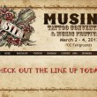 Musink 2012 Tattoo and Music Festival Band Line Up – March 2-4, OC Fair Grounds
