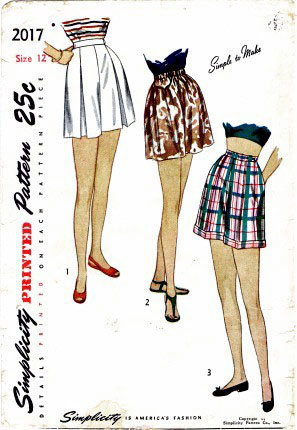 Shorts of the 40's