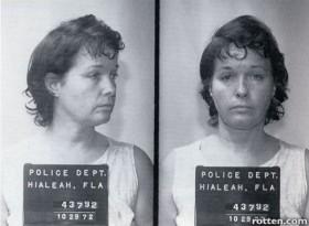 Bettie Page Mugshot