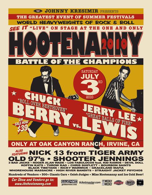 2010 Hootenanny Lineup