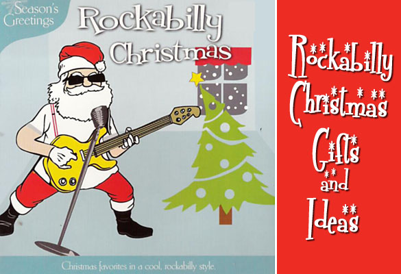 Rockabilly christmas gifts and ideas