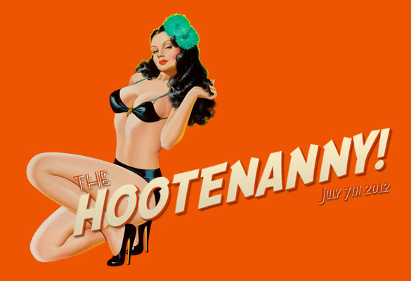 The Hootnenanny 2012 Band Lineup