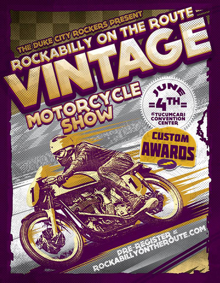 Rockabilly on the Route Vintage Motorcycle Show